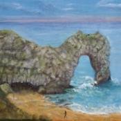 Durdle Dor Arch Rock